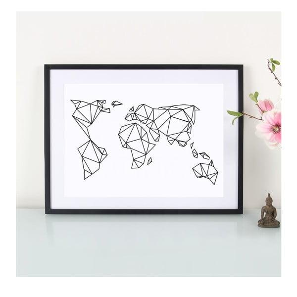 Plagát Geometrische Erde, A3
