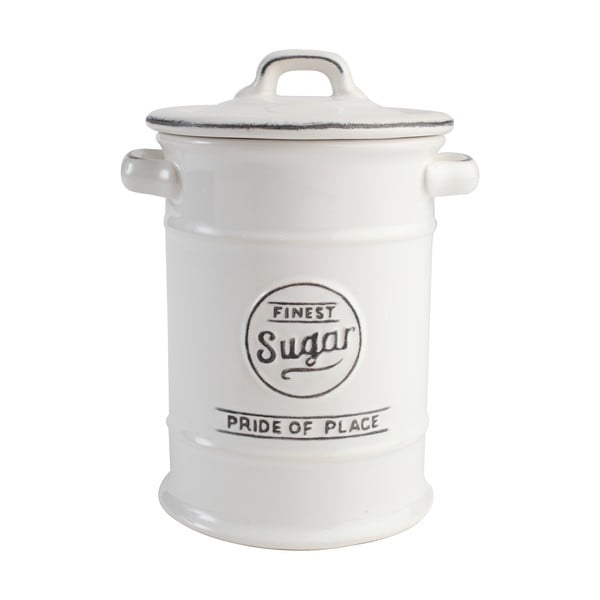 Biela keramická dóza na cukor T&G Woodware PrideofPlace