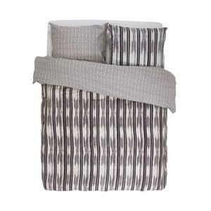 Obliečky Essenza Berber, 200x200 cm, antracitové