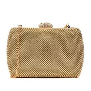 Listová kabelka v zlatej farbe Renata Corsi Calma