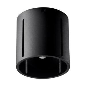 Čierne stropné svetlo Nice Lamps VULC