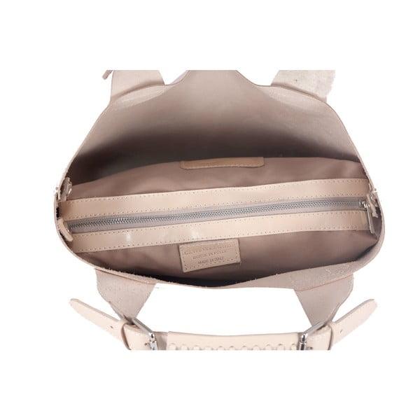 Kožená kabelka Andrea Cardone 2004 Beige