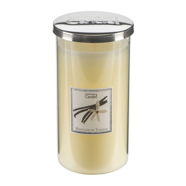 Aromatická sviečka s vôňou vanilky Copenhagen Candles Talll, doba horenia 70hodín