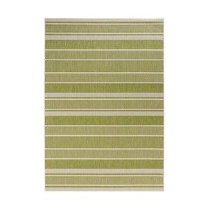 Zelený koberec vhodný aj do exteriéru Strap, 160×230 cm