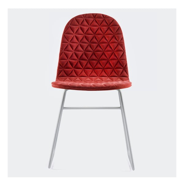 Stolička Mannequin Triangel, červená