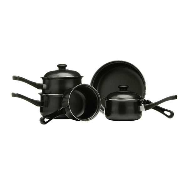Set hrncov a panvice Black Carbon, 5 ks