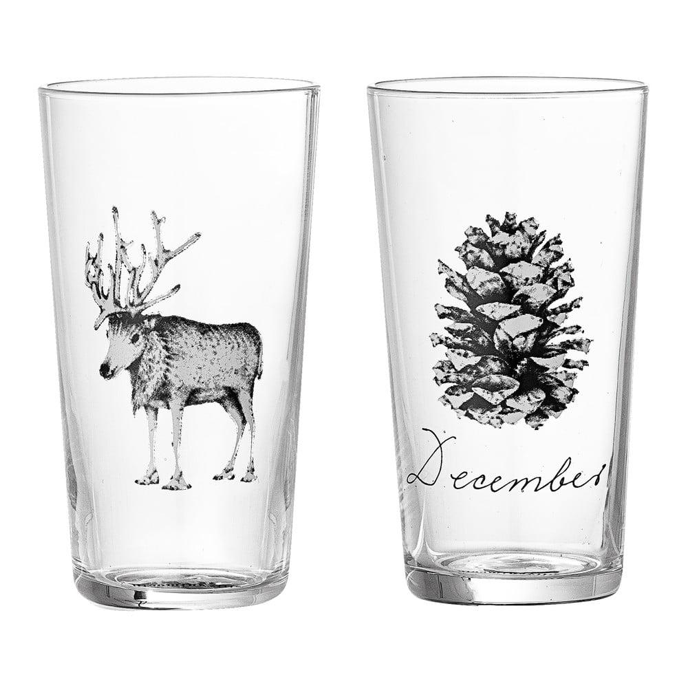 Sada 2 pohárov Bloomingville Maria, ⌀ 6 cm