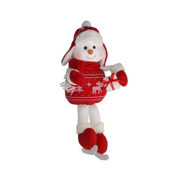 Dekoratívna soška Sitting Snowman