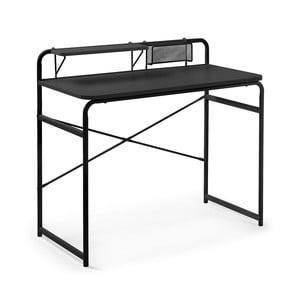 Čierny písací stôl La Forma Foreman