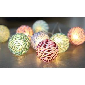 Osvetlenie Striped Balls