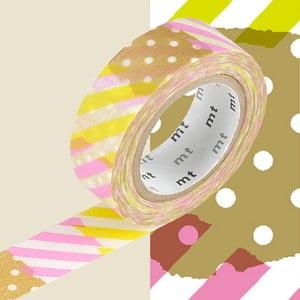 Washi páska MT Masking Tape Deline, návin10m
