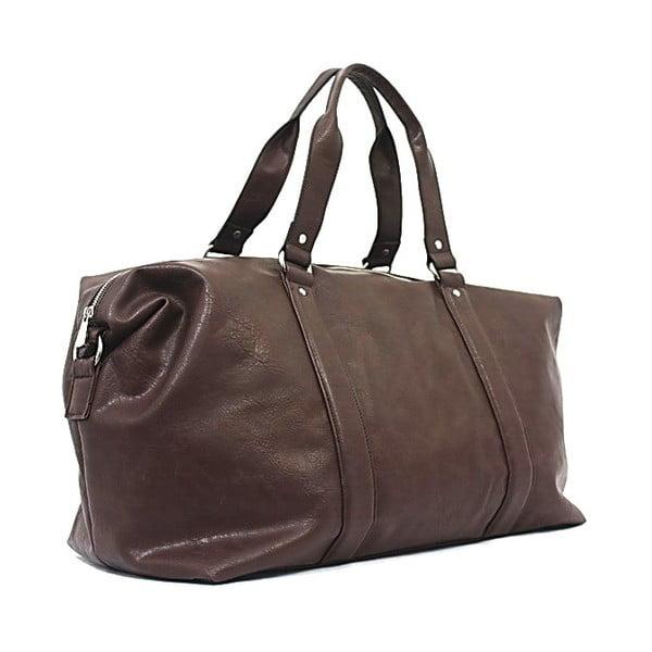 Cestovná taška Bobby Black - Coffee, 50x33 cm