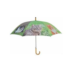 Dáždnik s potlačou mačky Ego Dekor, ⌀ 120 cm