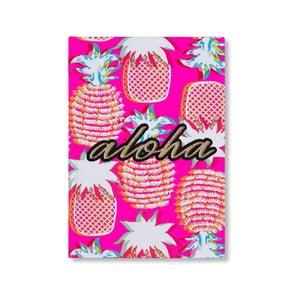 Linkovaný zošit s tvrdou väzbou Tri-Coastal Design Aloha, 96 strán