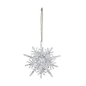 Závesná vianočná dekorácia na stromček Ego Dekor Misto Snowflake Big