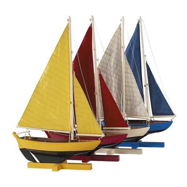 Set 4 ks modelov lodí Sunset Sailors