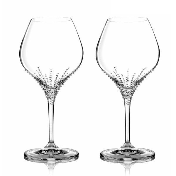 Sada 2 pohárov na biele víno Enyo so Swarovski Elements v luxusnom balení