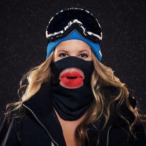 Lyžiarska maska Beardo Kiss Lips