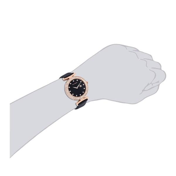 Dámske hodinky Levanger Black/Gold
