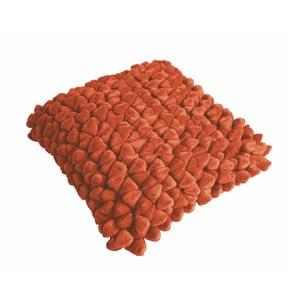 Oranžový vankúš ZicZac Pebble, 45x45cm