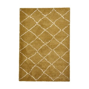 Žltý koberec Think Rugs Royal Nomadic Yellow, 120×170 cm