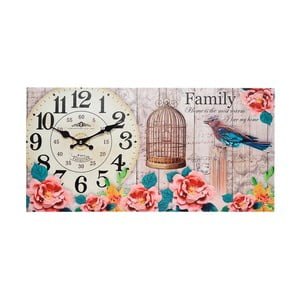 Nástenné hodiny Family, 60x30 cm