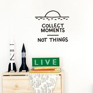 Dekoratívna samolepka na stenu Collect Moments