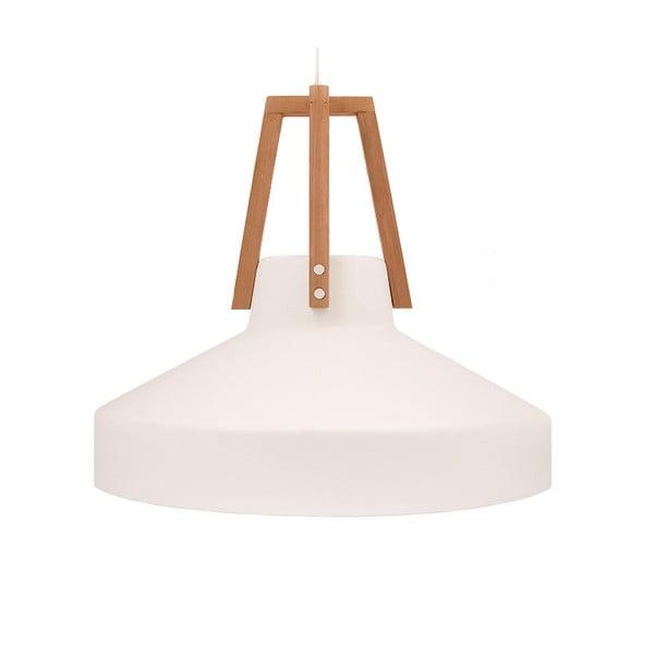 Biele stropné svetlo Loft You Work, 33 cm