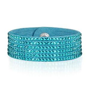 Náramok Simply Blue, 17 cm