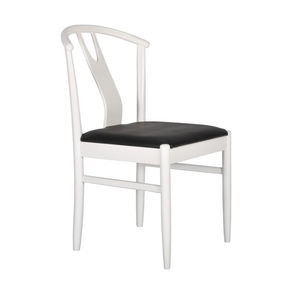 Sada 2 jedálenských stoličiek Hugo, biela