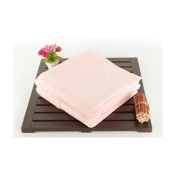 Sada 2 osušiek Tomur Pink, 50x90 cm
