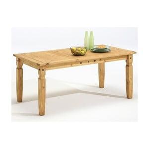 Jedálenský stôl z borovicového dreva SOB Mexiko, 80 x 80 cm