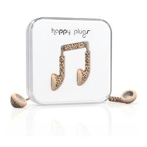Slúchadlá Happy Plugs Leopard