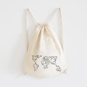Plátený batoh Geometrische Erde