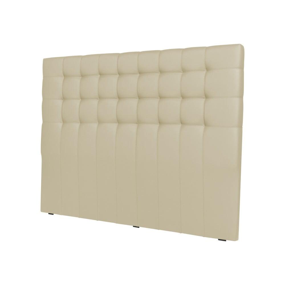 Krémové čelo postele Windsor & Co Sofas Deimos, 140 × 120 cm