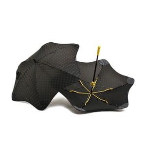 Vysoko odolný dáždnik Blunt Mini+ s reflexným poťahom, žltý