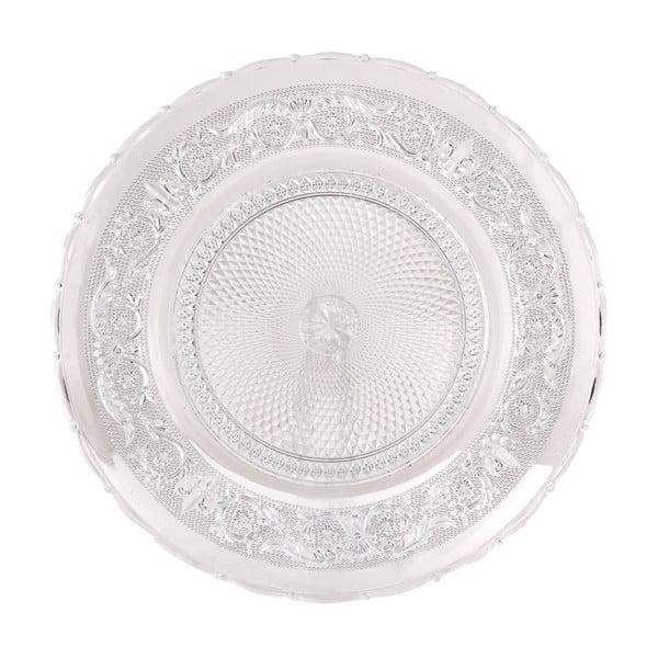 Sklenený tanier Clayre, 30 cm