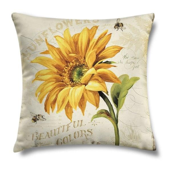 Vankúš Sunflower, 43x43 cm