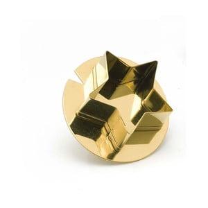 Formička na pečenie vo forme prsteňa v zlatej farbe e-my Cik