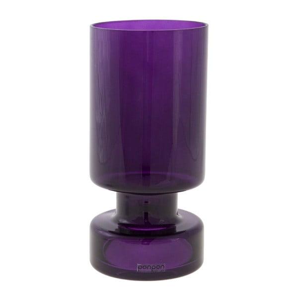 Váza/svietnik Delhi 17.8 cm, fialová