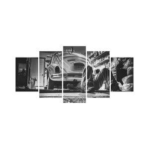Viacdielny obraz Black&White no. 71, 100x50 cm