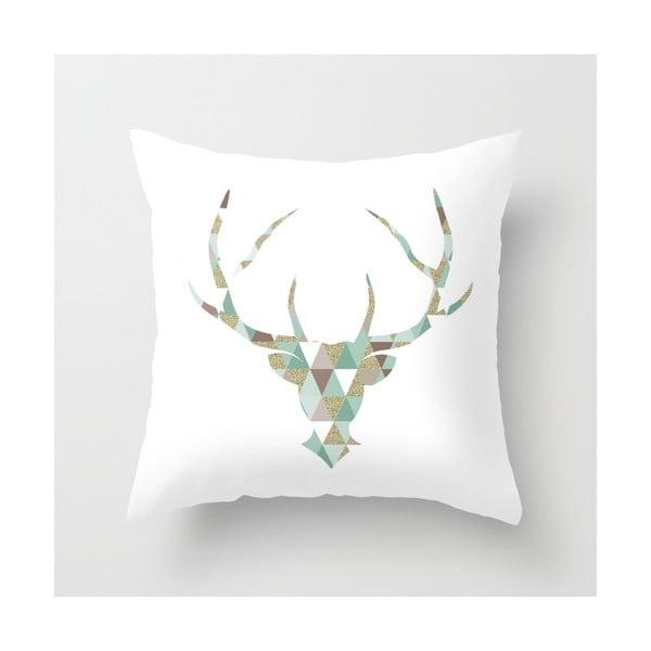 Obliečka na vankúš Triangl Deer, 45x45 cm