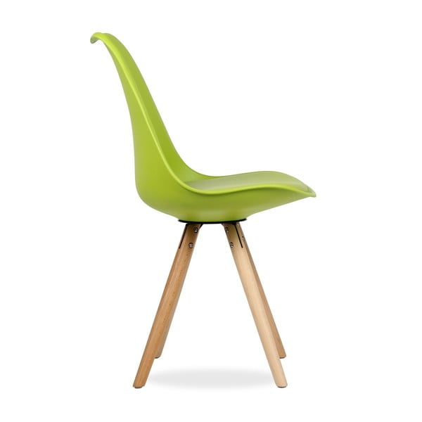 Stolička Tulip Star Green