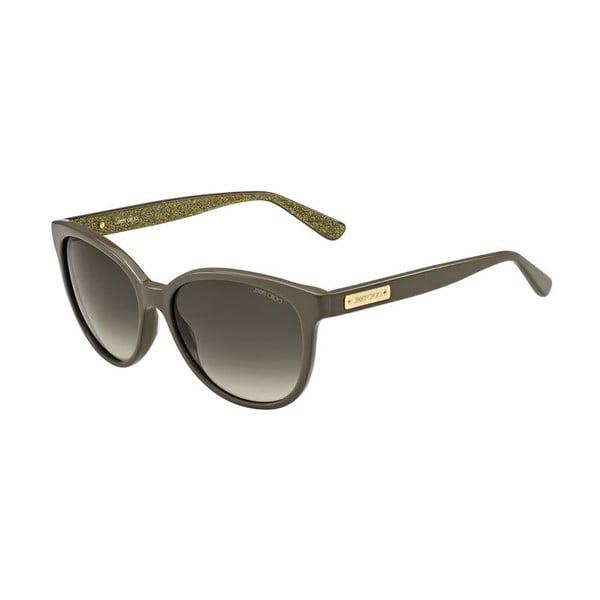 Slnečné okuliare Jimmy Choo Lucia Grey Glitter/Brown