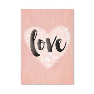Plagát od Mia Charro - Love Heart