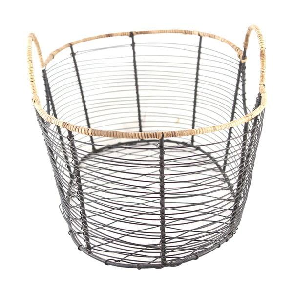 Drôtený kôš s okrúhlymi rúčkami