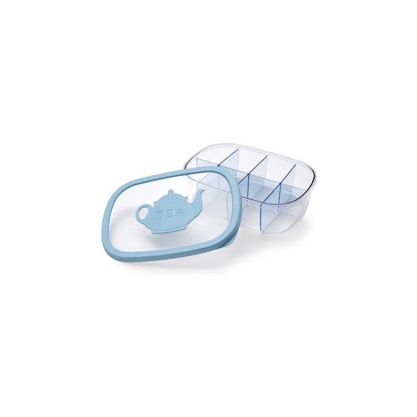 Krabička na čajové vrecúška Tea Bag Blue