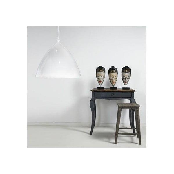 Závesné svietidlo Nordlux Slope 35 cm, biele