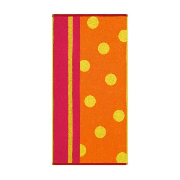 Uterák Punkte Kumquat, 70x140 cm