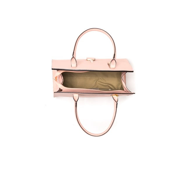 Kožená kabelka Renata Corsi 1080 Rosa